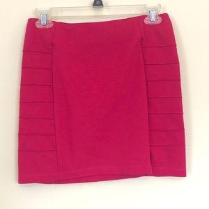 Forever 21 Hot Pink Mini Skirt Medium D13